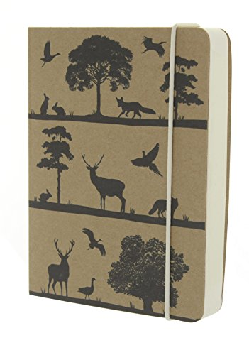 go-stationery-woodland-kraft-silhouette-notebook