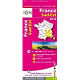 France South East 2014 ign (Ign Map)