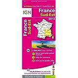 804 FRANCE SUD-EST 2014  1/350.000