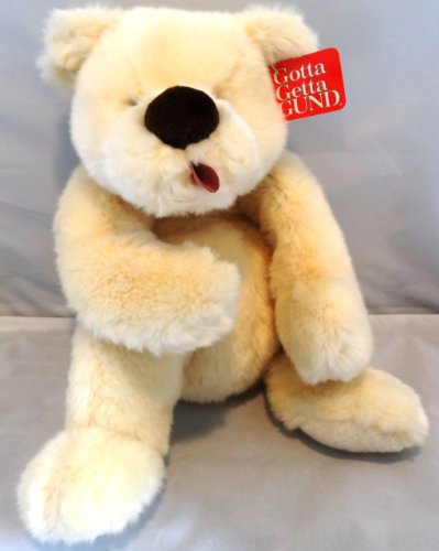 Gund Clueless 16 Inch Teddy Bear With Tongue Out front-836070