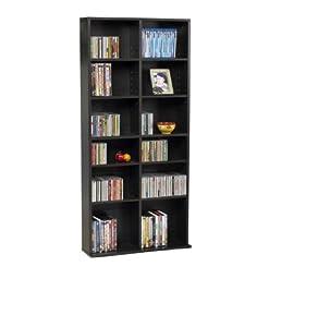 Atlantic 38435604 Oskar Media Cabinet 464 CD (Espresso P1 Version)