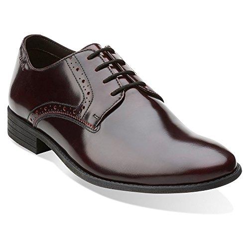 Men Shoe Burgundy Brush Off