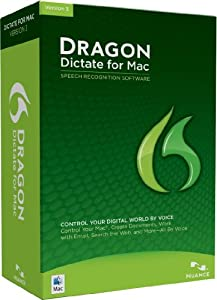 Dragon Dictate 3.0, English