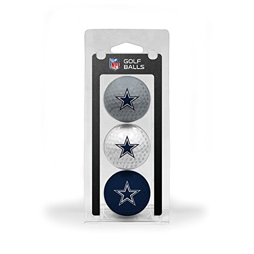 NFL Dallas Cowboys 3-Pack Golf Balls by Team Golf