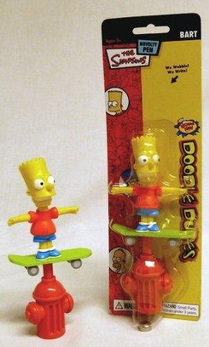 The Simpsons Doodle Dudes Pen - Bart Simpson