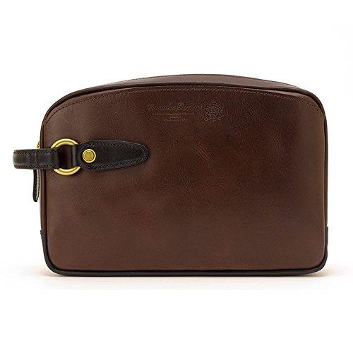 青木鞄 COMPLEX GARDENS(コンプレックスガーデンズ) 本革セカンドバッグ 玄ボウ No.4755 メンズ 牛革 レザー 日本製