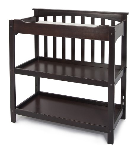 Child Craft 0-36 Months Brook Bridge Dressing Table, Dark Alder