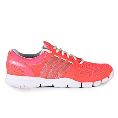 Adidas Adipure TR 360 Training Shoes - Pink/Silver/White (Women) - 6
