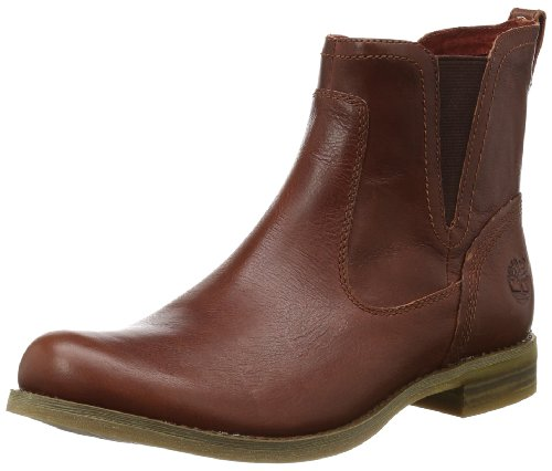 Timberland Womens EK Savin Hill Chelsea Boots C8059A Brown 3.5 UK, 36 EU