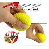 A99 36pcs PU ball foam ball practice golf training yellow