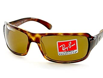 Ray-Ban Highstreet RB 4075 Sunglasses Tortoise / Crystal Brown Polarized