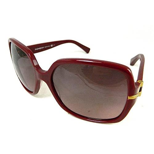 YVES SAINT LAURENT Designer Sunglasses YSL 6307S LHF 3X Red Gold Made In Italy