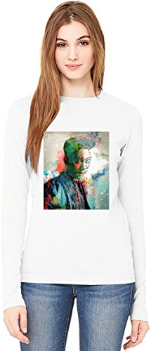 Between You & Me T-Shirt da Donna a Maniche Lunghe Long-Sleeve T-shirt For Women| 100% Premium Cotton| DTG Printing| Large