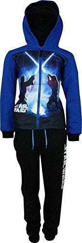Bambini e ragazzi Star Wars Tuta da ginnastica / Jogging Set Blu Marino-4 Anni / 104 cm