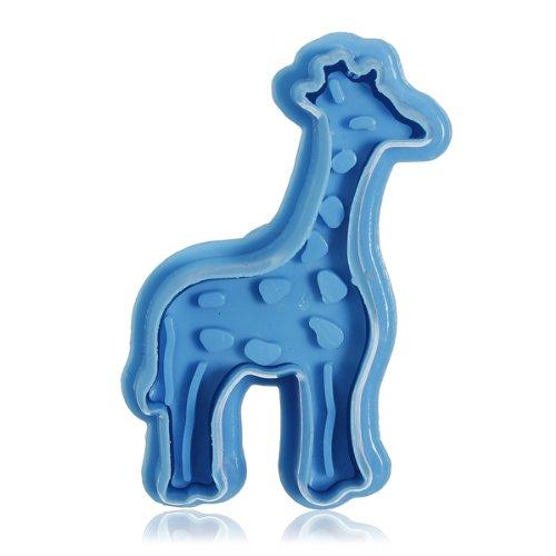 Stereo Diy Cartoon Giraffe Shape Cookie Cake Mold