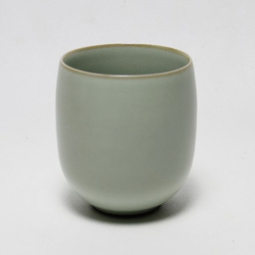 Ufingo-Longquan Celadon Porcelain High Temperature Resist Green Small Ceramic Tea Cup-Type4