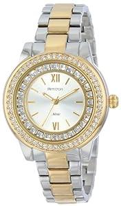 Armitron Women's 75/5115SVTT Swarovski Crystal Accented Two-Tone Bracelet Watch