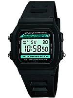 Casio - Noir Digital Illuminator Watch - Homme