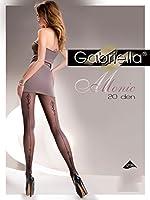 Gabriella Sexy Femmes Collants avec Couture Arrière GB 279 20 DEN