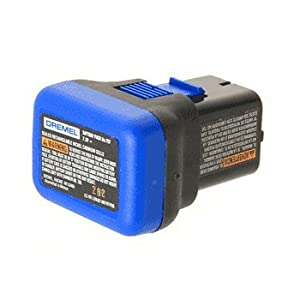 Amazon.com: CRL Dremel 7.2 Volt Battery Pack by CR Laurence: Home ...