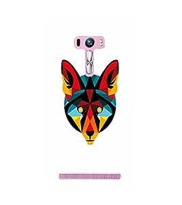 EPICCASE Artistic animal Mobile Back Case Cover For Asus Zenfone Selfie (Designer Case)