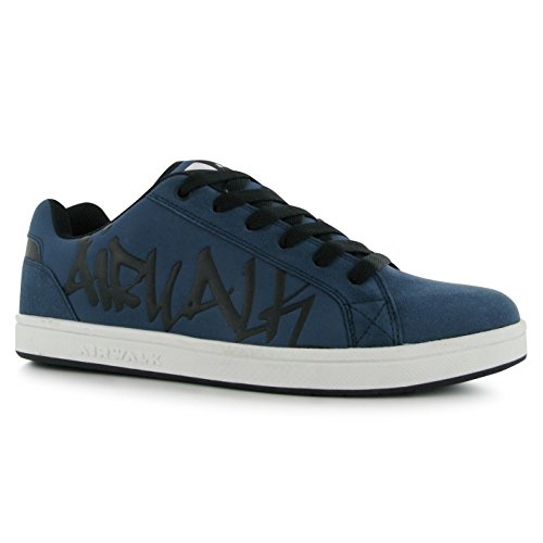 Airwalk Neptune Skate Scarpe Casual da uomo, colore: blu Navy, Sneakers, Navy, (UK10) (EU44)