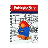 Notebook Paddington Bear Spiral Bound Recortable Tapa Tamaño: A5