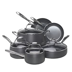 Earth Pan 10-Piece Hard Anodized Cookware Set