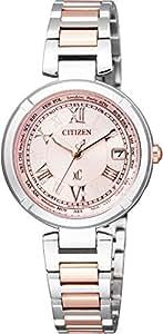 [シチズン]CITIZEN 腕時計 xC クロスシー  Eco-Drive エコ・ドライブ電波時計 TITANIA LINE HAPPY FLIGHTシリーズ EC1114-51W レディース