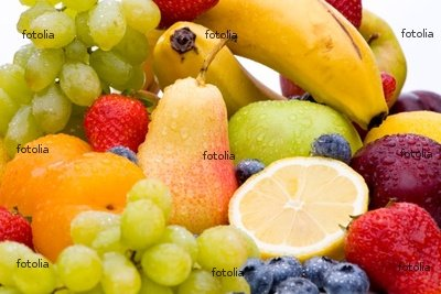 Wallmonkeys Peel and Stick Wall Graphic - Eclectic Mix of Fresh Fruit - 18