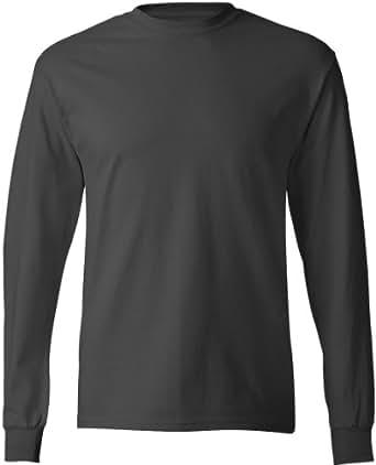 Hanes comfortsoft tagless long sleeve t shirt 5586 for Hanes comfortsoft tagless t shirt review