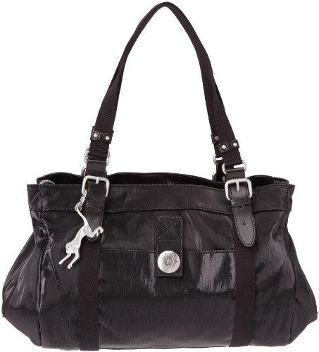 Kipling Women's New April Shoulder Bag Black Coated K24607904 Medium