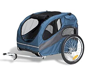 Solvit HoundAbout Pet Bicycle Trailer by Essential Pet Products