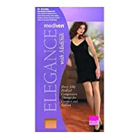 Mediven Elegance 16-20mmHg Pantyhose -92872 Color: White (7), Size: Medium
