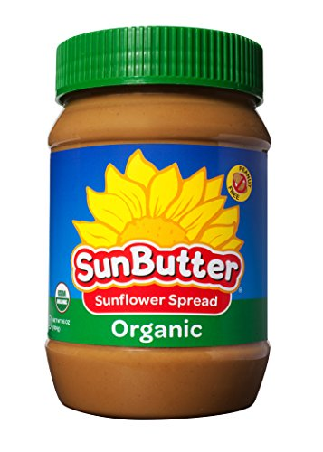Sunbutter Organic Sunflower Seed Spread, 16-Ounce Plastic Jars (Pack Of 6)