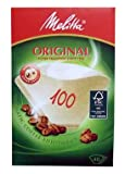 Melitta 100 Coffee Filter Papers Brown