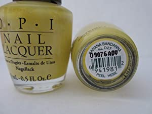 OPI banana bandanna / sunbelievable summer 2009 D27