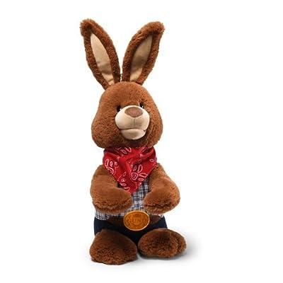 "Gund Easter Cotton Eye Joe Bunny Animated 10"" Plush by Gund"