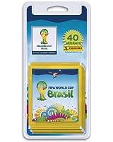 40 Stickers Coupe du Monde de la FIFA Brésil 2014