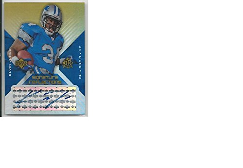 Football NFL 2004 Upper Deck Refractions #SR-KJ Kevin Jones #SR-KJ VG/EX Very Good/Excellent Auto (Auto Refraction compare prices)