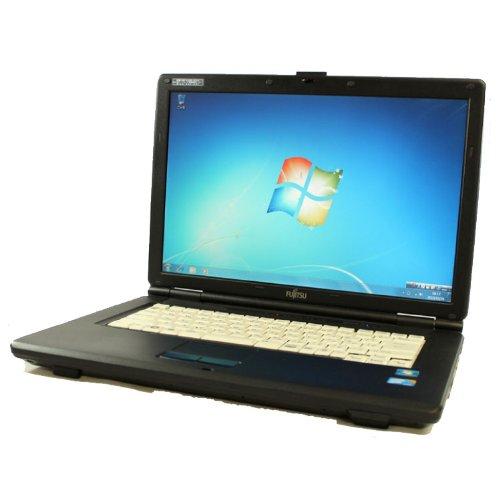 FUJITSU LIFEBOOK FMV-A8260 Core2Duo 4GB 80GB 15.4型 DVD-ROM Windows7 中古 ノートパソコン