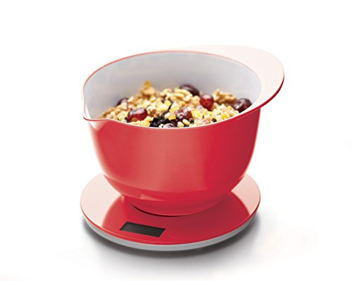 Kitchen Craft Colourworks Balance culinaire 5 kg Rouge