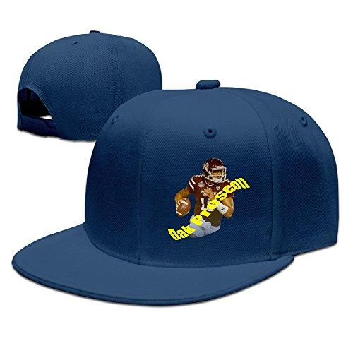 Z-Jane Dak #5 Prescott Running Baseball Hat Hip Hop Hat Adjustable Snapback Flat Bill Navy