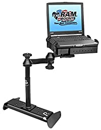 RAM Mounts (RAM-VB-191-SW1) No-Drill Laptop Mount for the Chevrolet Silverado 1500 with 40/20/40 Bench Seat Only (2014)