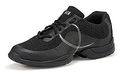 Bloch Dance Troupe Shoe, Black, 12 M US