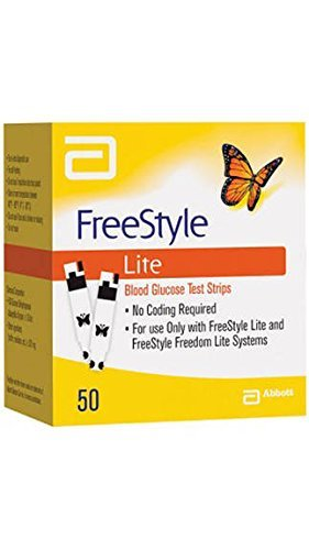 100 COUNT Freestyle Lite Test Strips