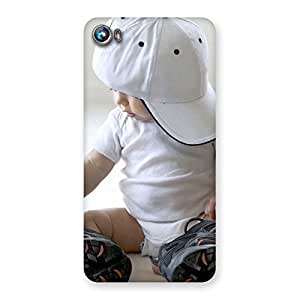 Gorgeous Hip Hop Cute Boy Back Case Cover for Micromax Canvas Fire 4 A107