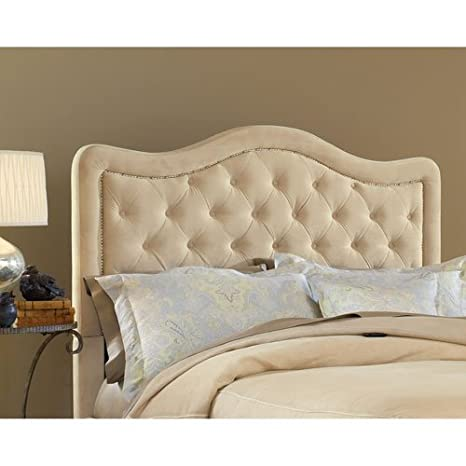 Trieste Queen Fabric Headboard-Buckwheat