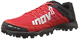 Inov-8 Mudclaw 300 Trail Running Shoe, Black/Red, 10.5 C US