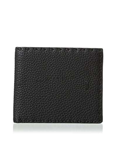 Fendi Men's Stitched Wallet, Nero